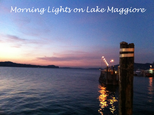 Morning Lights on Lake Maggiore