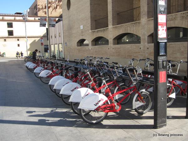 Barcelona City Bikes