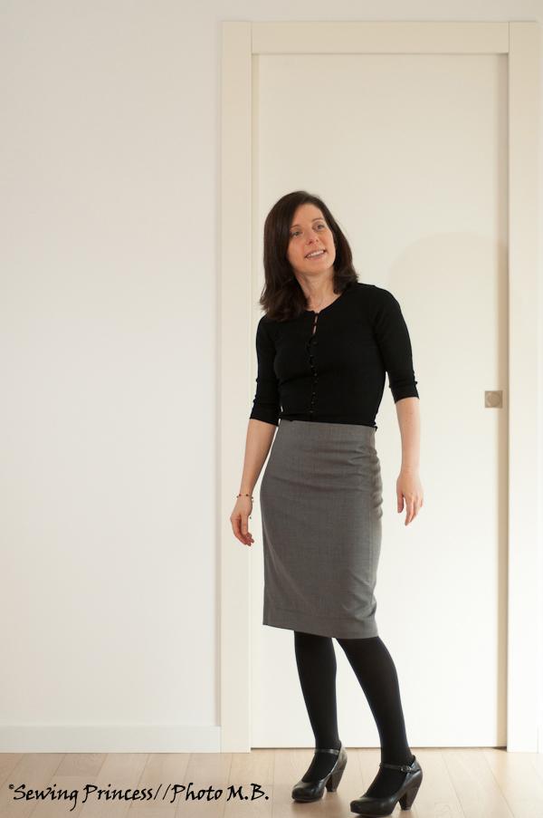 Apron Skirt - Pencil Skirt