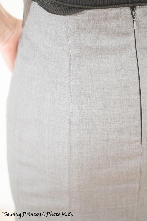 Apron Skirt - Pencil Skirt seams