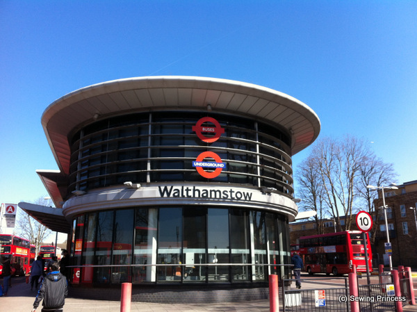 Walthamstow tube station