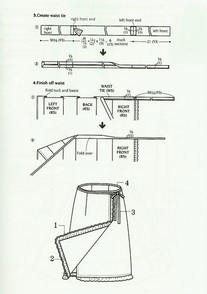 stylish skirts instructions