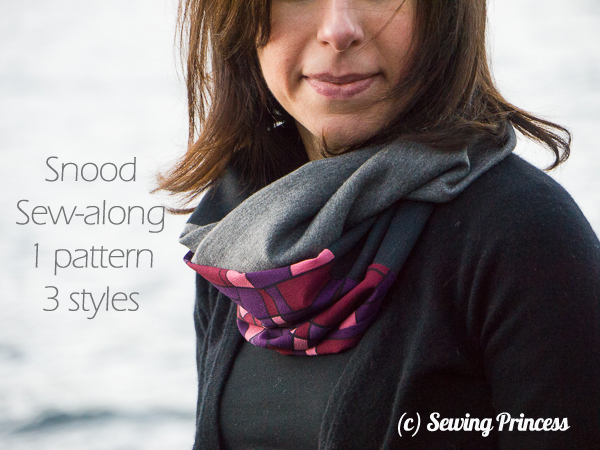 Snood Sew Along 1 Pattern 3 Styles 1 Collo 3 Versioni Sewing