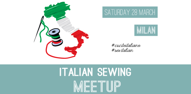 Italian Sewing Meetup Banner