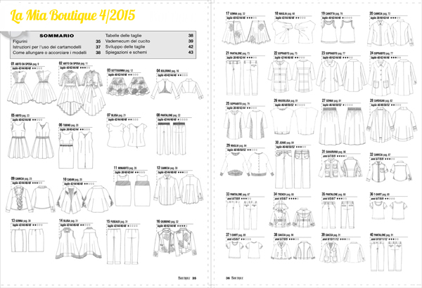 Sewing Princess: La mia boutique 042015 pattern-list_sm