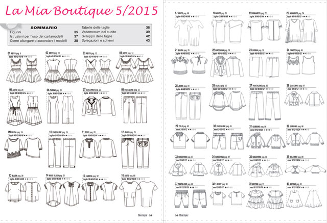 Conosciuto La Mia Boutique 05/2015 Review/Recensione – Sewing Princess RE42