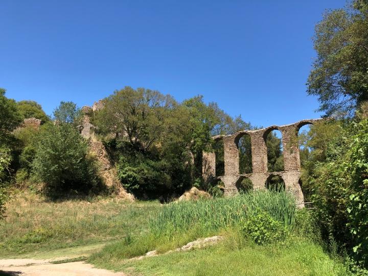 canale monterano acqueduct
